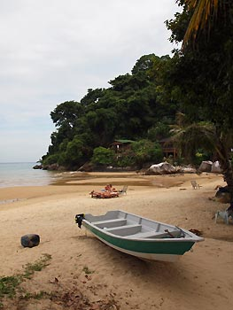 One of the many beaches on Tioman Island, Malaysia
