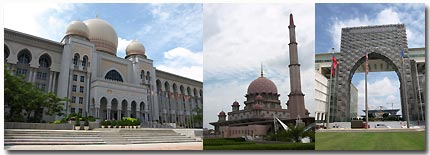 Federal Government Administration Centre of Malaysia Putrajaya