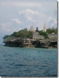 Temples at Menjangan Island, Indonesia