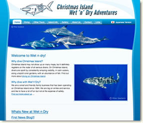 Diving Christmas Island with Wet n Dry
