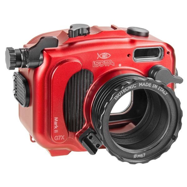 Isotta Underwater Housing for Canon PowerShot G7X Mark II