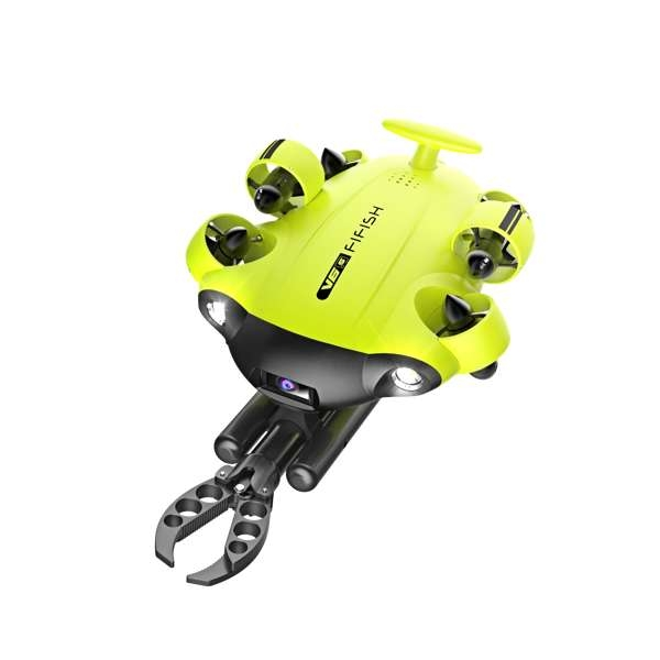 QYSEA Fifish V6s - Underwater Drone Kit with Robotic Arm