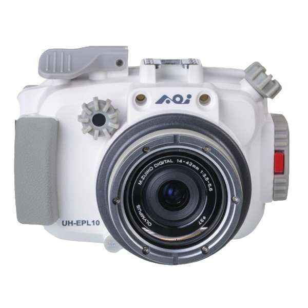 AOI UH-UPL10 Underwater Housing for Olympus Pen E-PL9/E-PL10 White