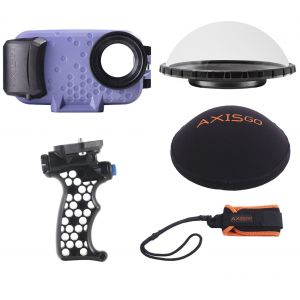 AxisGo iPhone 12 Pro Max Over Under Kit - Astral Purple and Deep Black