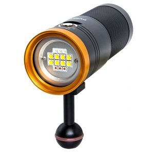 Scubalamp PV52T LED Photo/Video Light - 5000 lumens