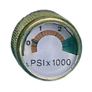 Submersible Systems Spare Air Mini Pressure Gauge