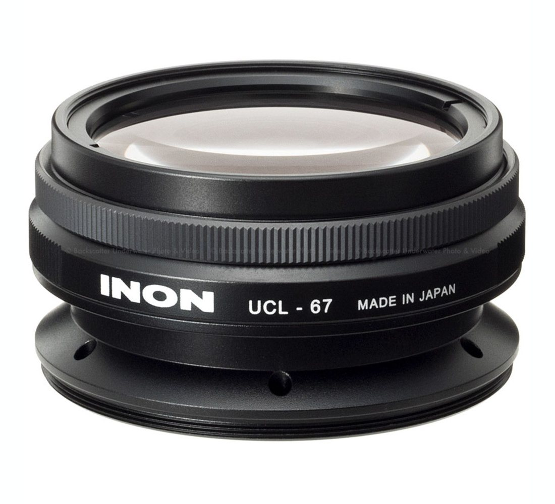 Inon UCL-67 M67 Underwater Close-up Macro Lens +15