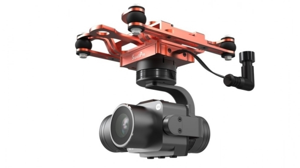 Waterproof 3-axis Gimbal 4K camera for SwellPro SplashDrone 3+