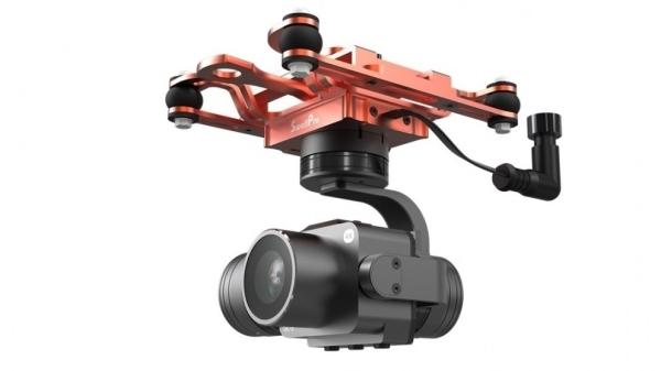 Waterproof 3-axis Gimbal 4K camera for SwellPro SplashDrone 3+