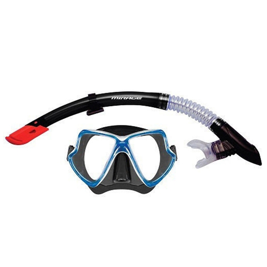 Mirage Adult Pacific Mask and Snorkel Set