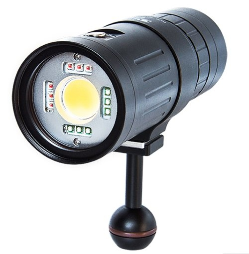 Scubalamp P53 LED Video/Photo Strobe Light - 5000 lumens