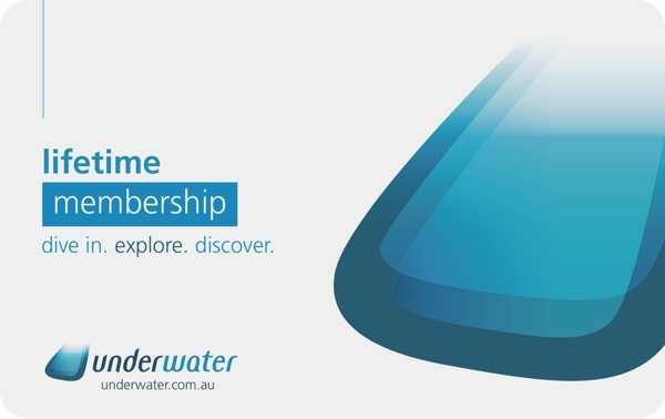 Underwater Card - Lifetime membership