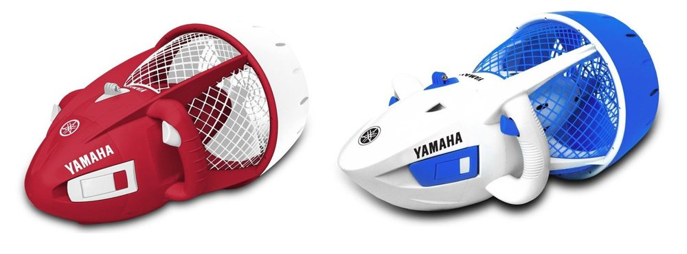 The Yamaha Seal (red/white) and the Explorer (white/blue) are excellent entry level scooters. Adult supervision a must!