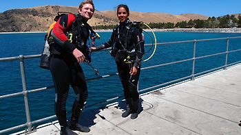 Nate from NB Scuba. Rapid Bay, South Australia