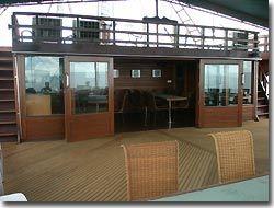 Back deck of the 'Archipelago Adventurer II', Banda,Indonesia