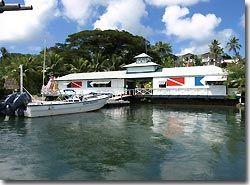Traders' Ridge had its own dive shop, Yap, Micronesia.