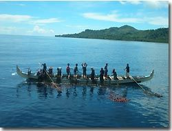 Local people fishing,Indonesia