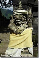 The Hindu culture can be seen everywhere, Bali
