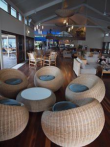 Pandanus Lounge, Heron Island. Heron Island Resort, Australia
