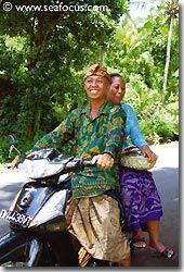 Popular mode of transport, Bali