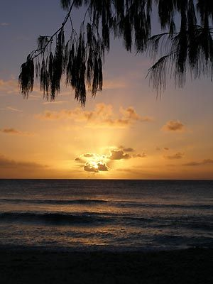 One of the many beautiful sunsets, Yap, Micronesia.