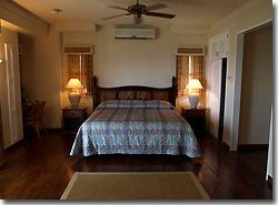 One of the rooms at Trader's Ridge resort complex, Yap, Micronesia