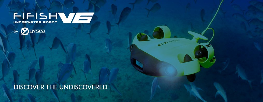Fifish V6 Underwater Drone